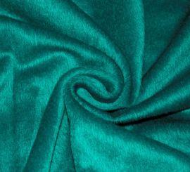 Пальтовая ткань Альпака зеленая