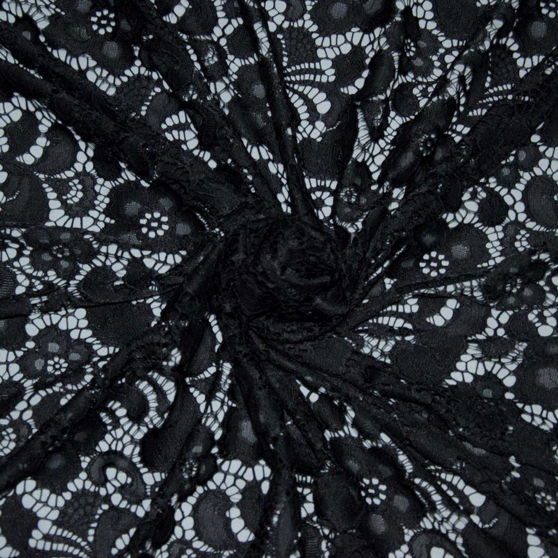 Гипюр La Perla : Полиамид-100%, Черный