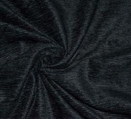 Вельвет черный шелковый Emanuel Ungaro