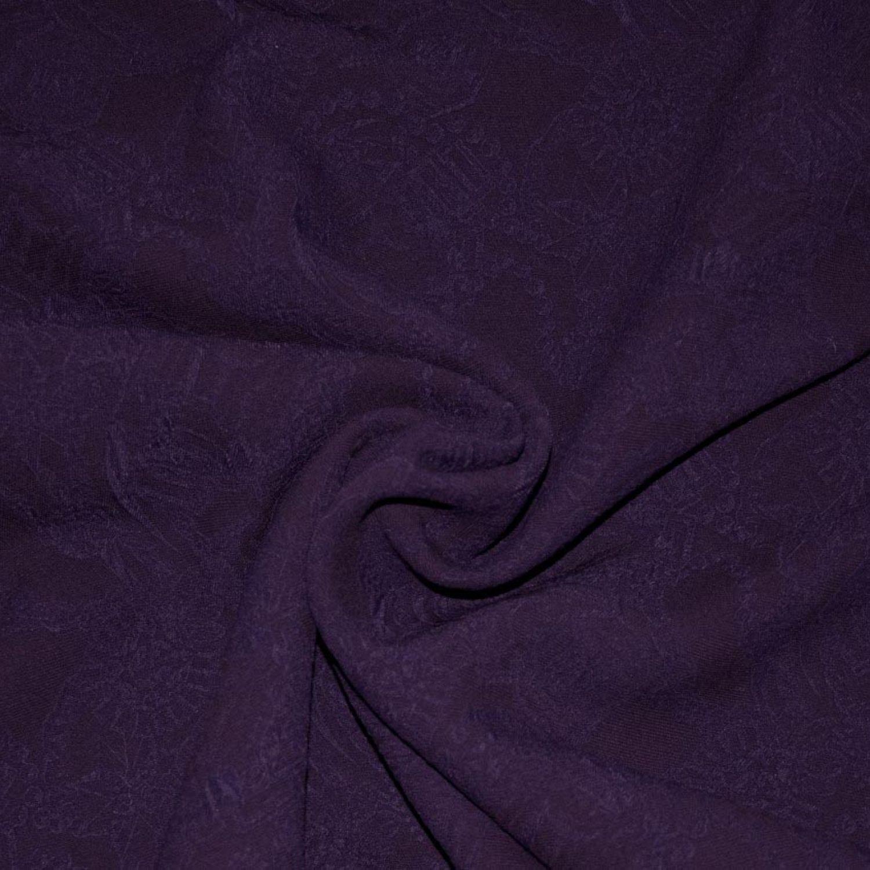 Жаккард Emilio Pucci : Шелк-50%, Шерсть-35%, Вискоза-15%, Фиолетовый, Сиреневый