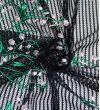 Гипюр Blumarine : Полиэстер-100%, Черный, Зеленый, Белый, Розовый