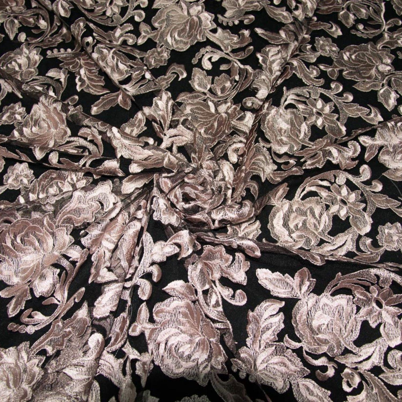 Гипюр D&G : Полиэстер-100%, Розовый, Пудровый, Черный