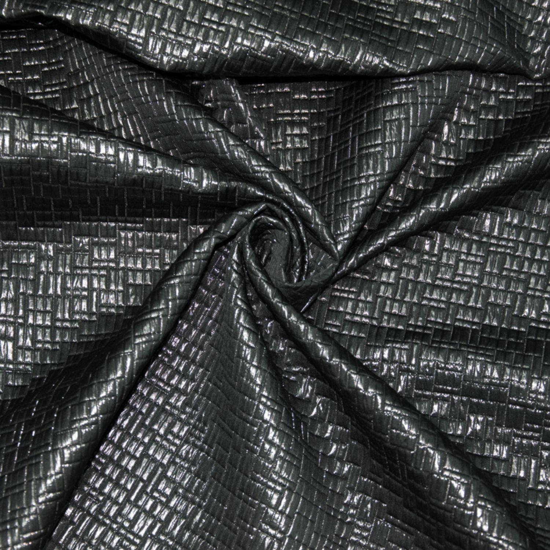 Жаккард Pinko  : Полиэстер-80%, Люрекс-20%, Черный