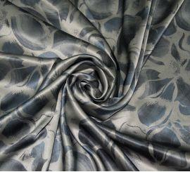 Атласный шелк Armani серый