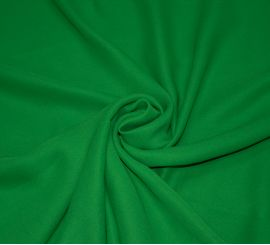 Шелковый крепдешин зеленый